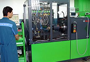 Banco de pruebas Bosch EPS 565/2 para pruebas de Bombas inyectoras.